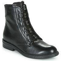 kengät Naiset Bootsit Mjus PALLY Musta
