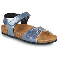kengät Tytöt Sandaalit ja avokkaat Geox ADRIEL GIRL Sininen