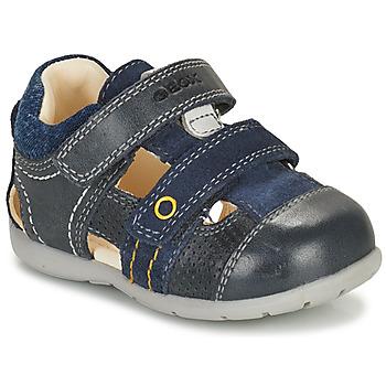 kengät Pojat Sandaalit ja avokkaat Geox KAYTAN Laivastonsininen
