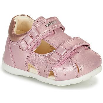 kengät Tytöt Sandaalit ja avokkaat Geox KAYTAN Vaaleanpunainen