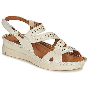kengät Naiset Sandaalit ja avokkaat Pikolinos ALTEA W7N Valkoinen