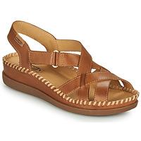 kengät Naiset Sandaalit ja avokkaat Pikolinos CADAQUES W8K Ruskea