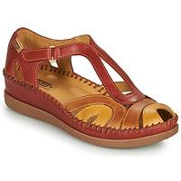 kengät Naiset Sandaalit ja avokkaat Pikolinos CADAQUES W8K Punainen / Beige