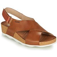 kengät Naiset Sandaalit ja avokkaat Pikolinos MAHON W9E Ruskea