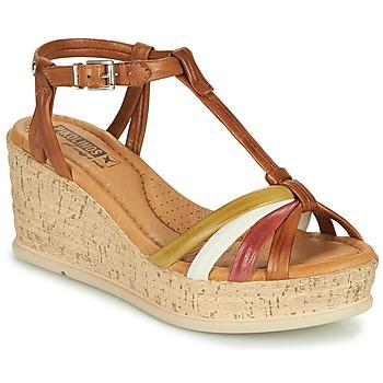 kengät Naiset Sandaalit ja avokkaat Pikolinos MIRANDA W2F Ruskea