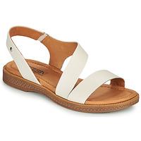 kengät Naiset Sandaalit ja avokkaat Pikolinos MORAIRA W4E Valkoinen