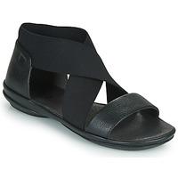 kengät Naiset Sandaalit ja avokkaat Camper RIGHT NINA Musta