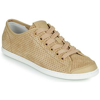 kengät Naiset Matalavartiset tennarit Camper UNO Beige