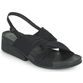 kengät Naiset Sandaalit ja avokkaat Camper MINI KAAH Musta