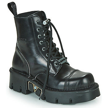 kengät Bootsit New Rock M-MILI083NCP-C1 Black