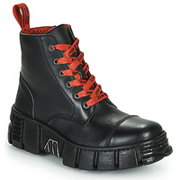 kengät Bootsit New Rock M-WALL005-C19 Black / Red