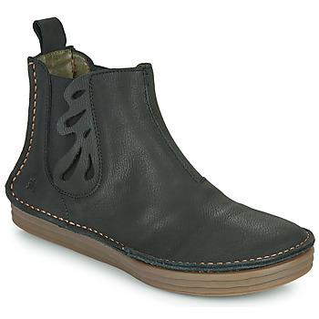 kengät Naiset Nilkkurit El Naturalista PLEASENT Black