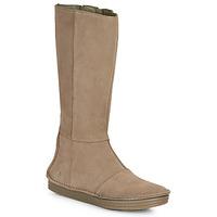 kengät Naiset Saappaat El Naturalista LUX Brown