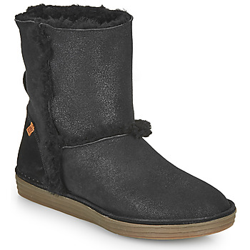 kengät Naiset Saappaat El Naturalista LUX Musta