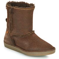 kengät Naiset Bootsit El Naturalista LUX Brown