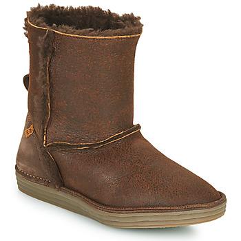 kengät Naiset Bootsit El Naturalista LUX Ruskea