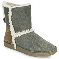 kengät Naiset Bootsit El Naturalista LUX Grey / Kaki