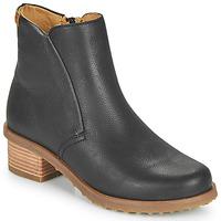 kengät Naiset Nilkkurit El Naturalista SOFT Musta
