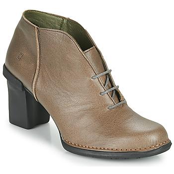 kengät Naiset Saappaat El Naturalista CAPRETTO Ruskea