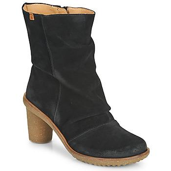 kengät Naiset Nilkkurit El Naturalista LUX Musta
