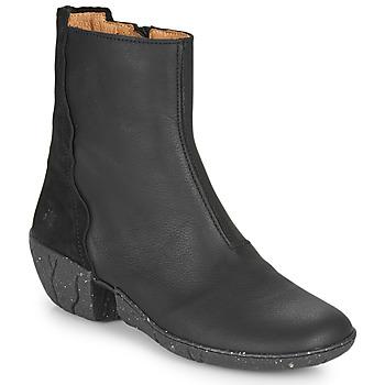 kengät Naiset Saappaat El Naturalista SOFT Musta