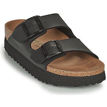 kengät Naiset Sandaalit Papillio ARIZONA GROOVED Musta