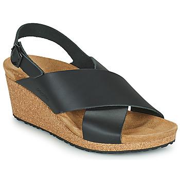 kengät Naiset Sandaalit ja avokkaat Papillio SAMIRA RING BUCKLE Musta