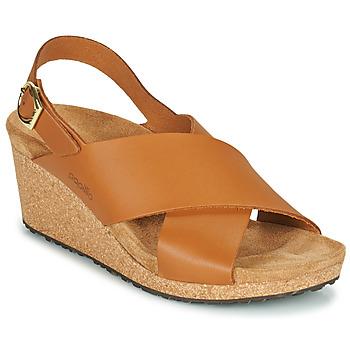 kengät Naiset Sandaalit ja avokkaat Papillio SAMIRA RING BUCKLE Ruskea