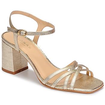 kengät Naiset Sandaalit ja avokkaat Jonak VICTORINE Kulta