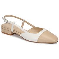kengät Naiset Sandaalit ja avokkaat Jonak DHAPOU Beige / Valkoinen