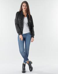 vaatteet Naiset Skinny-farkut G-Star Raw 3301 Ultra High Super Skinny Wmn Dk