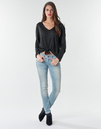 vaatteet Naiset Skinny-farkut G-Star Raw Lynn Mid Skinny Wmn Blue