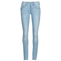 vaatteet Naiset Skinny-farkut G-Star Raw Lynn Mid Skinny Wmn NEW Blue