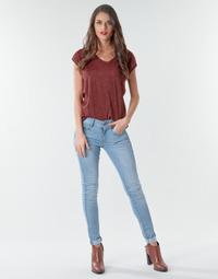 vaatteet Naiset Skinny-farkut G-Star Raw Lynn Mid Skinny Wmn NEW Sininen