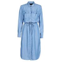 vaatteet Naiset Pitkä mekko G-Star Raw Rovic maxi shirt dress ls Blue