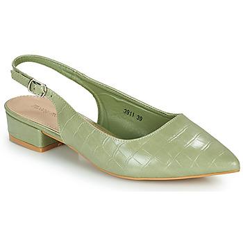 kengät Naiset Korkokengät Moony Mood OGORGEOUS Vihreä / Amande