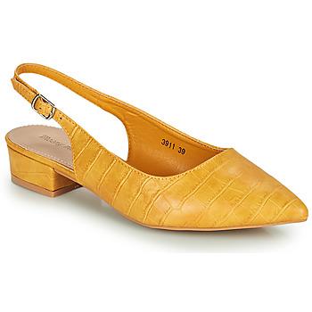kengät Naiset Korkokengät Moony Mood OGORGEOUS Keltainen