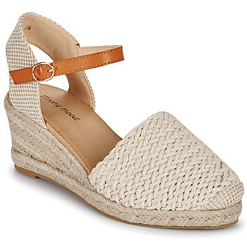 kengät Naiset Sandaalit ja avokkaat Moony Mood OCUTE Beige