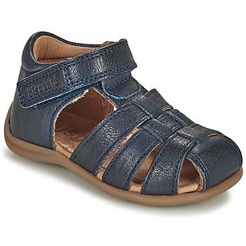 kengät Lapset Sandaalit ja avokkaat Bisgaard CARLY Laivastonsininen