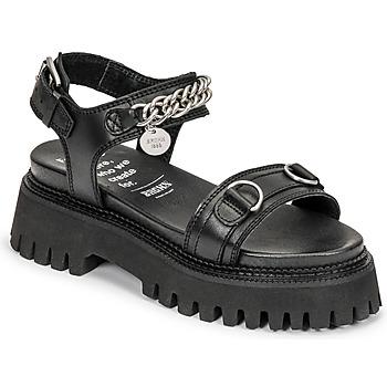 kengät Naiset Sandaalit ja avokkaat Bronx GROOVY SANDAL Musta