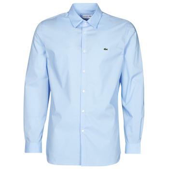 vaatteet Miehet Pitkähihainen paitapusero Lacoste PITTA Sininen