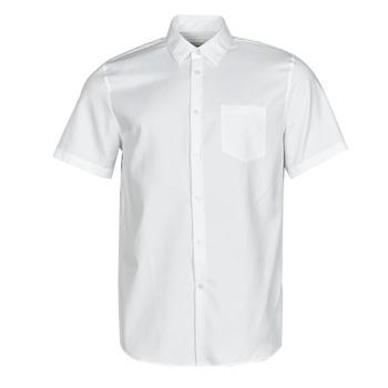 vaatteet Miehet Lyhythihainen paitapusero Lacoste FOLLA Valkoinen