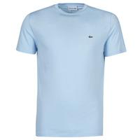 vaatteet Miehet Lyhythihainen t-paita Lacoste ALFED Sininen
