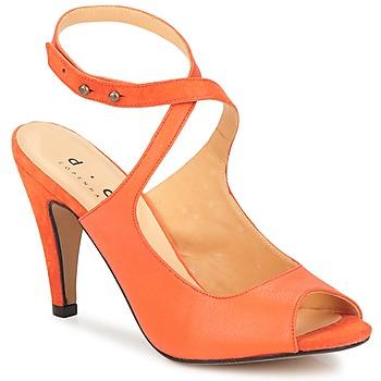 kengät Naiset Sandaalit ja avokkaat D.Co Copenhagen MARISSA Orange