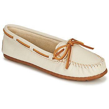 kengät Naiset Mokkasiinit Minnetonka BOAT MOC White