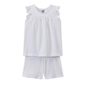 vaatteet Tytöt pyjamat / yöpaidat Petit Bateau FRIDGET Multicolour