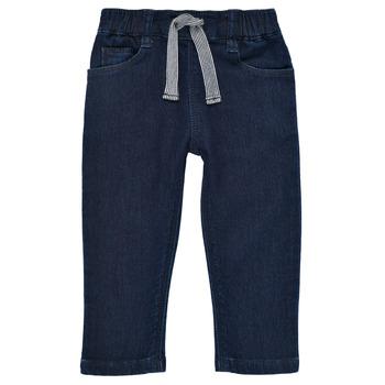 vaatteet Pojat Slim-farkut Petit Bateau MILET Sininen