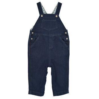 vaatteet Pojat Jumpsuits / Haalarit Petit Bateau MILIBERT Sininen