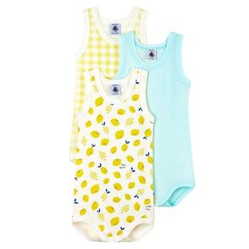 vaatteet Pojat pyjamat / yöpaidat Petit Bateau MOLIU Monivärinen