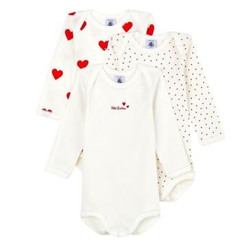 vaatteet Tytöt pyjamat / yöpaidat Petit Bateau A00BC-00 Monivärinen